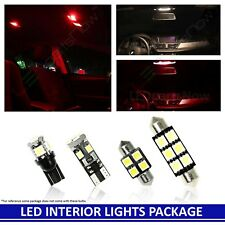 Mazda RX-8 2004-2011 RED Premium LED Interior Lights Package Kit (5 Pieces)