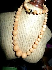 Beautiful faceted graduated  yellow jade necklace