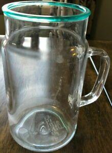 Summer Plastic #7 Mug Clear 22 OZ Beer Soda Pop Iced Tea Water Juice Milk