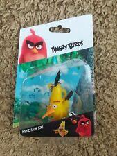 Angry Birds  'CHUCK' XXL Keyring/ Keychain/ Keyfob Brand New & Sealed