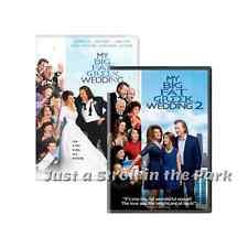 My Big Fat Greek Wedding: Nia Vardalos Movies 1 & 2 Complete Box/DVD Set(s) NEW