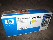 HP Q7582A Yellow Toner Cartridge 503A OEM Genuine NEW LaserJet CP3505 3800