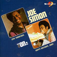Joe Simon - Love Vibration / Happy Birthday Baby [New CD] UK - Import