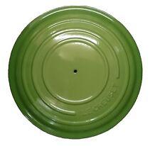 Le Creuset: SERIE EVOLUTION coperchio ricambio cm.24 colore: Palm (senza pomolo)