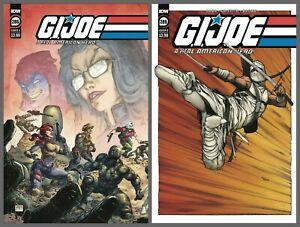 GI Joe A Real American Hero #286 Cover A B Variant Set Options IDW 2021 NM