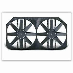 """Flex-A-lite 280 Dual Electric Fan 15"""" Shrouded Puller W/ Variable Speed Control,"""