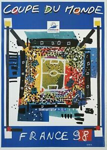 1998 France 1998 World Cup Poster - Plus 10 venue posters Authentic Tube