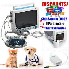 monitor paziente veterinario,di animali segni vitali,CO2+stampante+6 Parametri