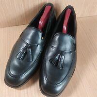 Florsheim Black Tassel Loafers 10D