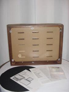 AR turntable model XA PLINTH WOODCASE & MISC ASSOCIATED LITERATURE