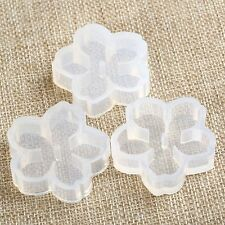 DIY Silicone Flowers Mold Making Jewelry Pendant Resin Casting Mould Hand Craft