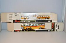 Dinky Toys 961 Swiss Postal Bus empty mint original complete box old shop stock