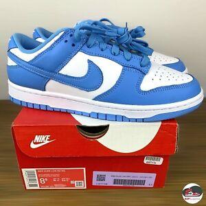 Nike Dunk Low Retro University Blue DS Men's Size 8.5 White UNC DD1391-102