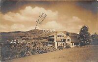 B9/ Jaffrey New Hampshire NH Real Photo RPPC Postcard 1921 Cutter House