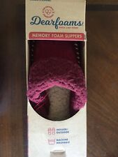 Women slippers- Dear-foams memory foam slippers size XL ( 11-12) USA
