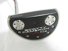 """Used LH Titleist Scotty Cameron Futura 5 CB 34"""" Putter With Headcover"""
