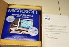 New opened  Microsoft Windows 1.0 1985  unused & Box /Manual Very Rare !!!!