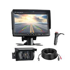 TOGUARD Backup Camera Kit, 7'' LCD Rear View Monitor with IP67 Waterproof Nig...