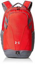 Under Armour Unisex Men Women UA Team Hustle 3.0 Backpack Bag Red 1306060 600