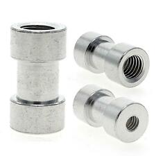 """1/4"""" to 3/8"""" Tripod Screw Nut Connecting Flash Mount Holder Camera Adapter 2pcs"""