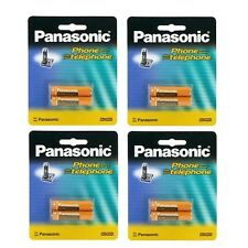 4 Packs of OEM Panasonic HHR-4DPA/2B Ni-MH Rechargeable Cordless Phone Battery