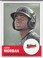 Julio Morban Seattle Mariners 2012 Topps Heritage Minor League Card