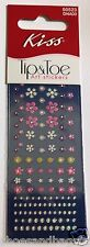 Kiss Flower Bling Bling Tip & Toe Nail Decal Art Stickers # 50523 /  DNA03 VHTF