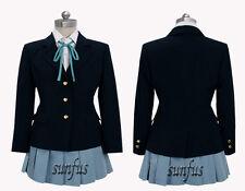 K-On! Yui Hirasawa school uniform Cosplay Costume ANY SIZE