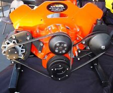 Chevy BBC Gilmer Drive Pulleys & Billet Brackets