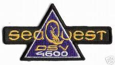 SEAQUEST DSV 4600 PATCH - SQST01