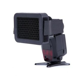 "Movo Photo SG18 1/8"" Honeycomb Quick Grid Universal Camera Flash Attachment"
