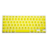 "FRANCAIS AZERTY Protection clavier silicone MacBook Pro/Pro Retina/Air 13 15 17"""