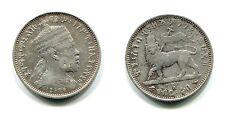 1/4 Birr Äthiopien/Ethiopia 1889A Silber