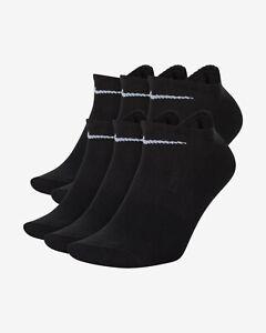 Nike Men's Unisex 6 Pair Everyday Lightweight Training Low-Cut Ankle Socks