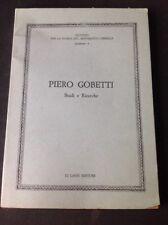PIERO GOBETTI - STUDI E RICERCHE - LI CAUSI EDITORE 1983