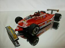 MINICHAMPS FERRARI 312 T4 GILLES VILLENEUVE - RACE CAR F1 1:43  - GOOD CONDITION