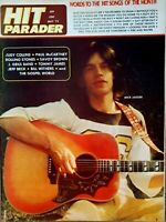 Hit Parader Magazine - May 1972  Mick Jagger cover and inside. EXC.