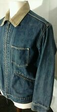 """Levi's Denim Jacket. 21"""" pit-to-pit, 26"""" length, Small. (rip to back of jacket)"""