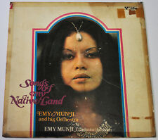 Philippines EMY MUNJI & HIS ORCHESTRA Songs Of My Native Land OPM LP Record