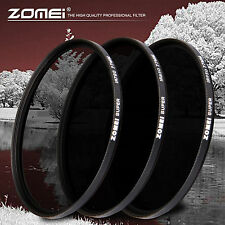 ZOMEI 77MM 720+850NM+950nm IR72 Infrared Infra-red IR Filter Lens Optical Glass