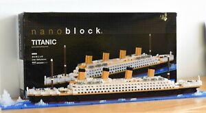 NB021 Nanoblock Titanic Ship Deluxe [Advanced Hobby Series] 1800pcs Age 12+
