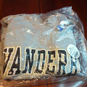 vanderbilt commodores T Shirt Grey XXL Fanatics Nwt