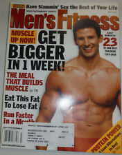 Men's Fitness Magazine Get Bigger In A Week May 2001 030415R