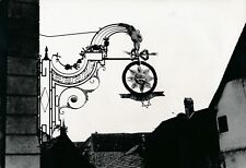 "KAYSERSBERG c.1935 -Enseigne Fer Forgé ""Auberge du Soleil"" Haut-Rhin - Div 11664"