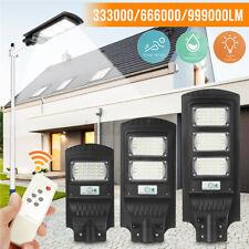 Super Bright 900W Solar Street Light Motion Sensor Garden Yard Wall