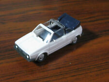 Wiking Volkswagen VW Golf I Cabrio weiß  / 1:87