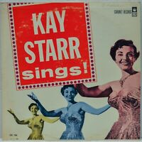 """Kay Starr Sings!"" 1963 [Coronet Records CX 106] Vinyl LP Album"