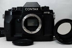 Contax RTS III 35mm SLR Film Camera w/Carl Zeiss Sonnar 135mm F2.8 AEJ