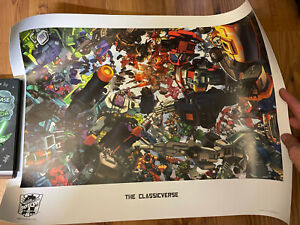 Transformers Botcon 2007 Exclusive The Classicverse Lithograph Art Prints