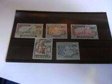 1961 ZANZIBAR SG375/377/378/380/381.UN.MOUNTED  MINT